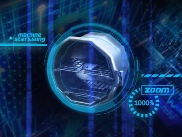 Medmaster Inc. - Machine Zoom Graphic Animation
